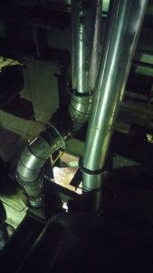 ท่อ flex ในการติดตั้งลำเลียง